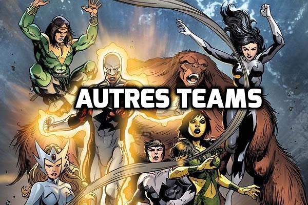 Autres teams X-men